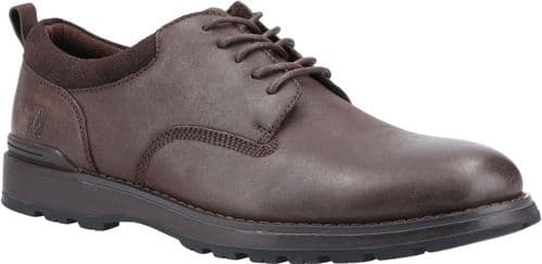 Hush Puppies Dylan Lace Mens Shoes Brown